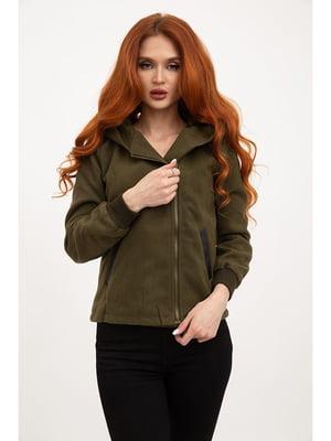 Куртка цвета хаки | 5299148