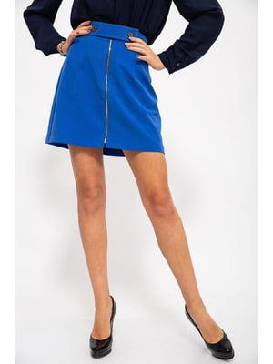 Спідниця кольору синій електрик | 5299565