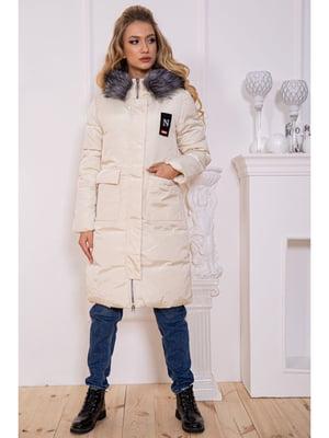 Куртка молочного цвета | 5625008