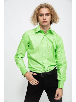 Рубашка салатового цвета | 5625106