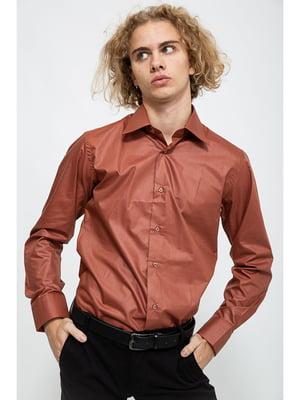 Рубашка коричневая | 5625164