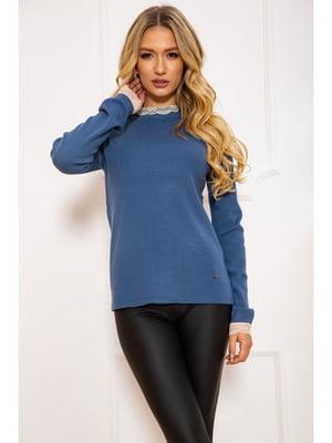 Джемпер джинсового кольору | 5625203