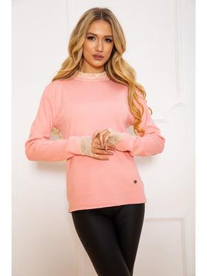 Джемпер розового цвета | 5625207