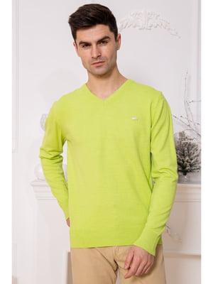 Пуловер салатового цвета | 5625224