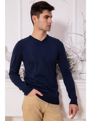 Пуловер синий   5625225