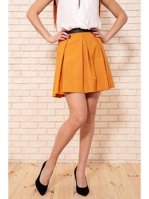 Спідниця бурштинового кольору | 5625385