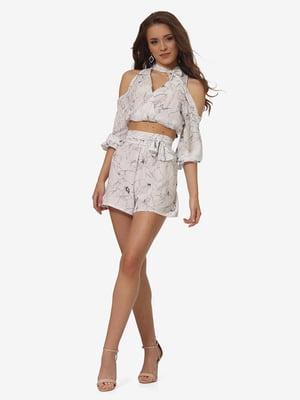 Комплект: блуза и шорты | 5626290