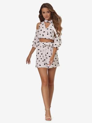 Комплект: блуза и шорты | 5626292