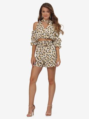 Комплект: блуза и шорты | 5626296