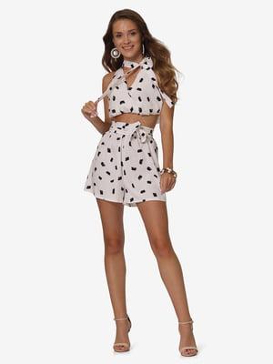 Комплект: блуза и шорты | 5626299