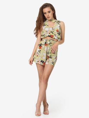 Комплект: блуза и шорты | 5626302