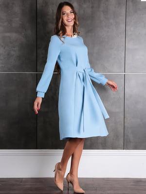 Платье голубое | 5626171