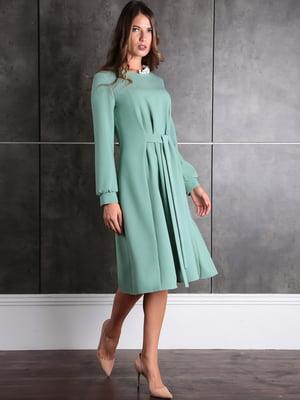 Платье ментолового цвета | 5626172