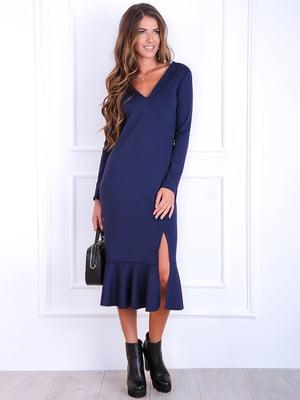 Платье синее   5626179