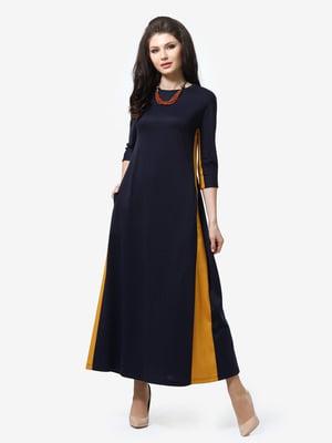 Сукня синьо-жовта | 5626181