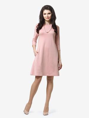 Сукня кольору пудри | 5626184