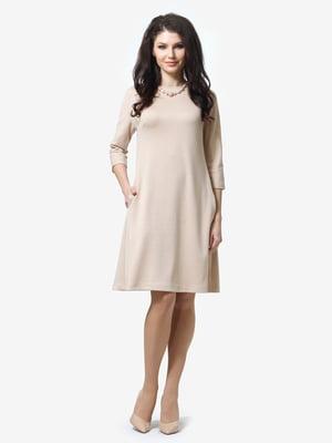 Сукня пісочного кольору | 5626186