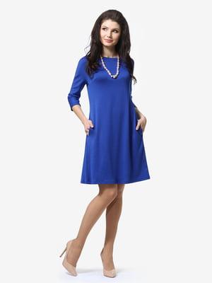 Сукня кольору електрик | 5626187