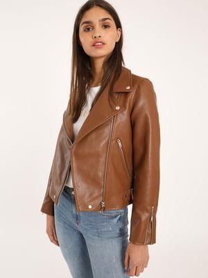 Куртка коричнева | 5454395