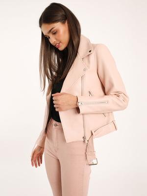 Куртка пудрового цвета | 5454400