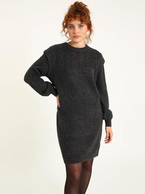 Платье темно-серое | 5625916