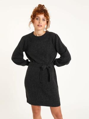 Платье темно-серое | 5625917