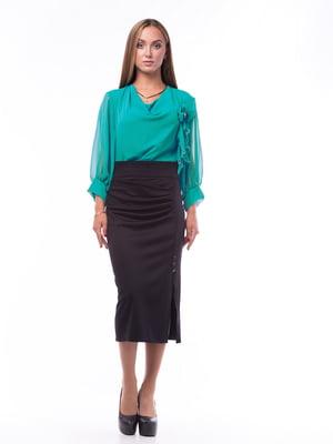 Блуза зеленая | 5627584