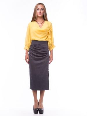 Блуза желтая | 5627585