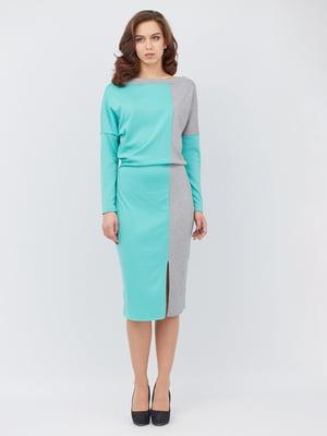 Сукня двоколірна | 5627663