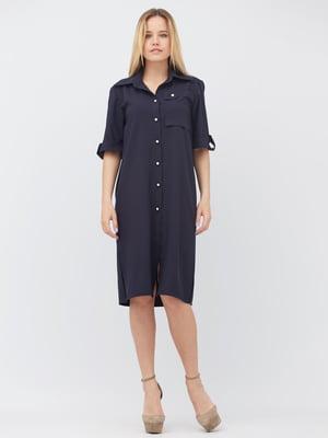 Сукня темно-синя | 5627693