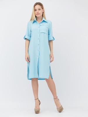 Сукня блакитна | 5627694
