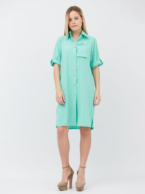 Сукня м'ятного кольору | 5627695