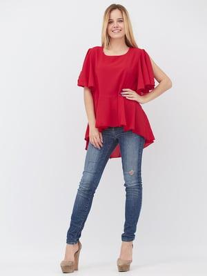 Блуза червона | 5627712