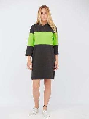 Сукня двоколірна | 5627719