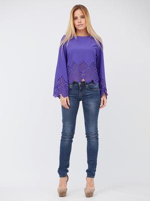 Блуза бузкового кольору | 5627720