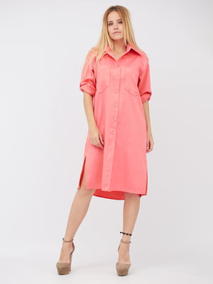 Платье кораллового цвета | 5627722