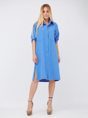 Платье голубое | 5627723