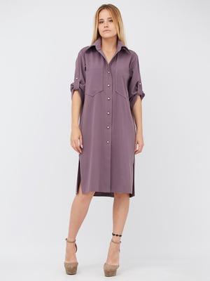 Платье сиреневого цвета | 5627725