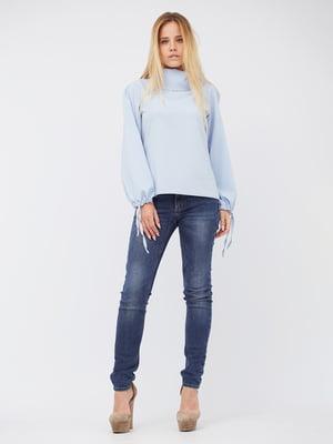 Блуза голубая | 5627730