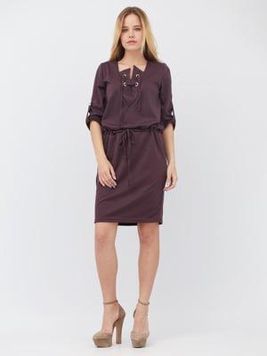 Сукня сливового кольору | 5627744