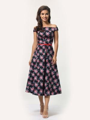 Сукня з квітковим принтом | 5626047