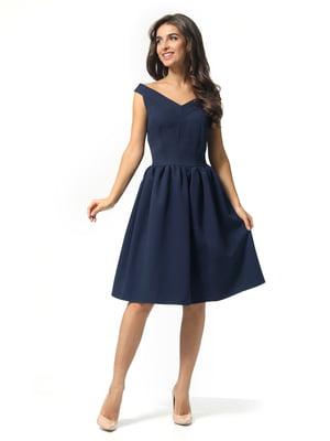 Платье темно-синее | 5626076