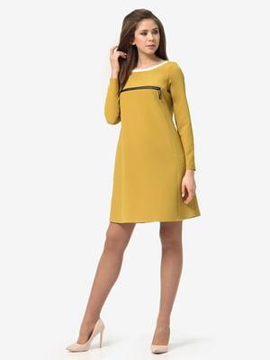 Платье горчичного цвета | 5626106