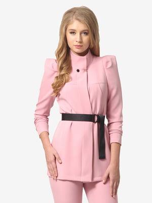 Жакет светло-розовый | 5626157