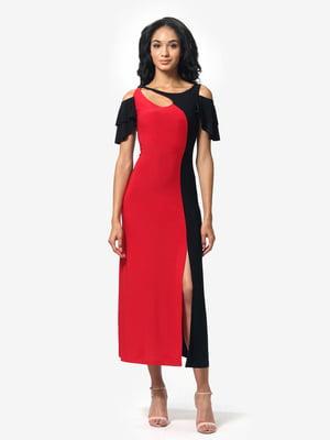 Сукня червоно-чорна | 5626348