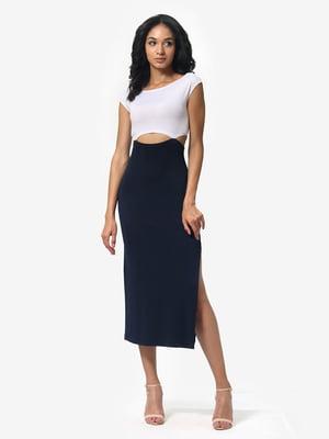 Сукня синьо-біла | 5626349