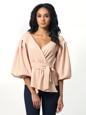 Блуза бежевая | 5626355