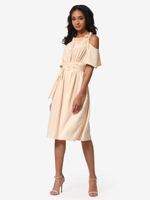 Платье песочного цвета | 5626364