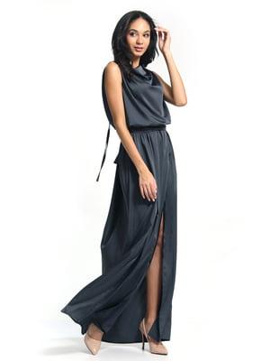 Сукня графітового кольору | 5626370