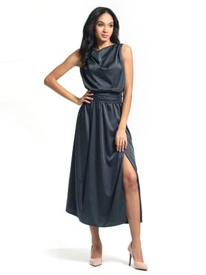 Сукня графітового кольору | 5626371